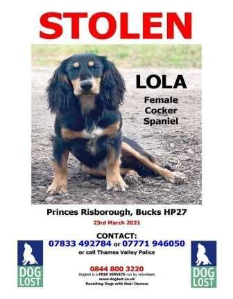 Stolen Lola