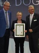 KCAI certificate presentation at Crufts 2019